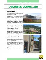 L'Echo de Cornillon N°1