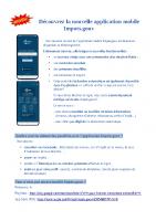 Appli mobile Impots.gouv